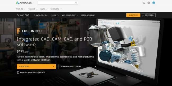 best 3D printing software: Autodesk Fusion 360