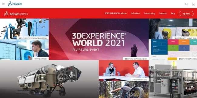 Solidworks website