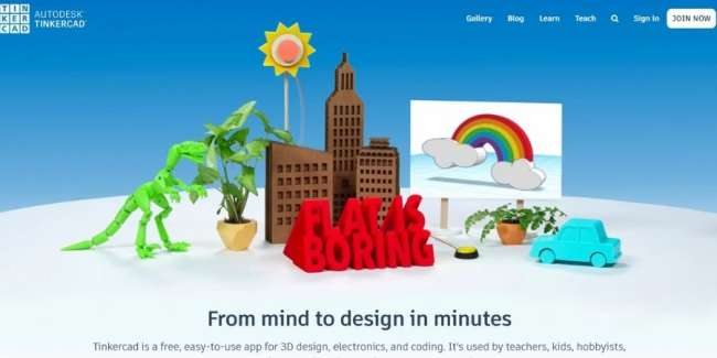 best 3D printing software: TinkerCAD