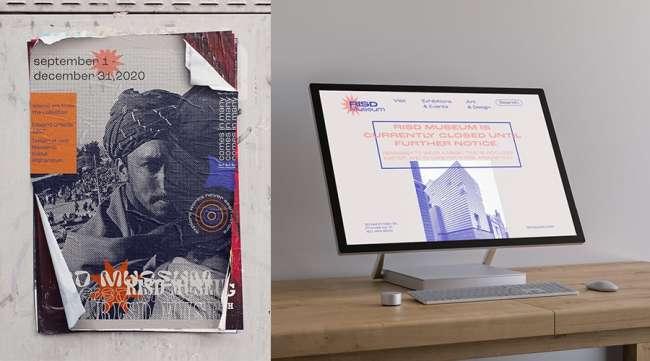 best graphic design: RISD Museum Rebranding by Mariam Elasser