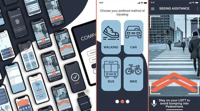 best UI design: Compassion app by Jovanna Mireles