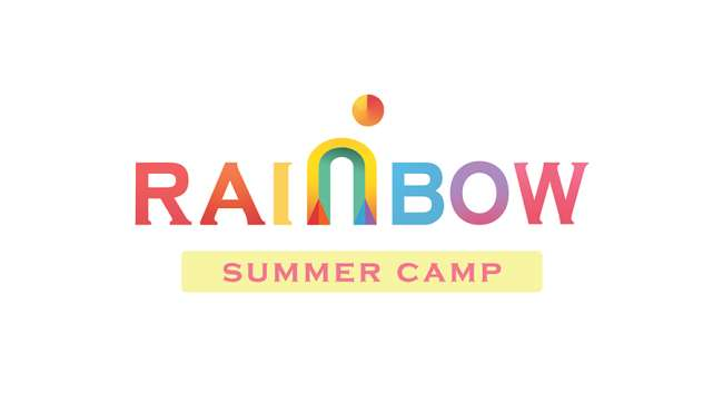 best logo design: Rainbow Summer Camp Logo Design by Osbel Olivares