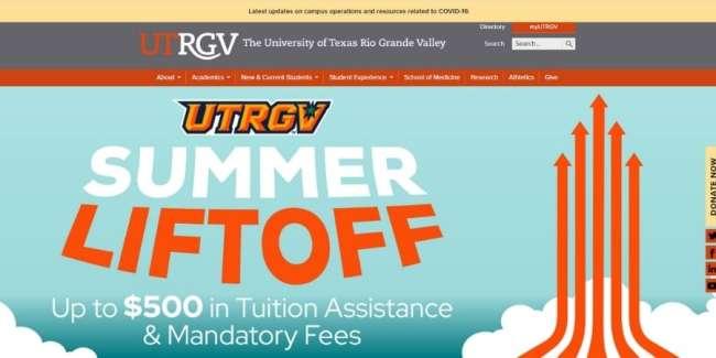 Top universities for design talent: The University of Texas Rio Grande Valley (UTRGV)