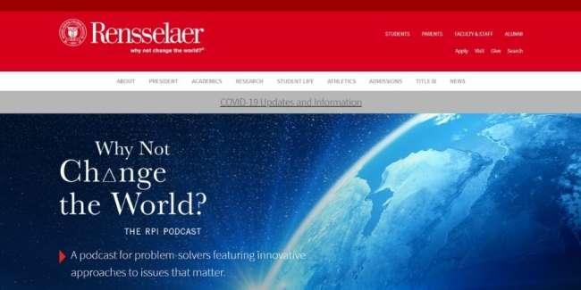 Top universities for design talent: Rensselaer Polytechnic Institute