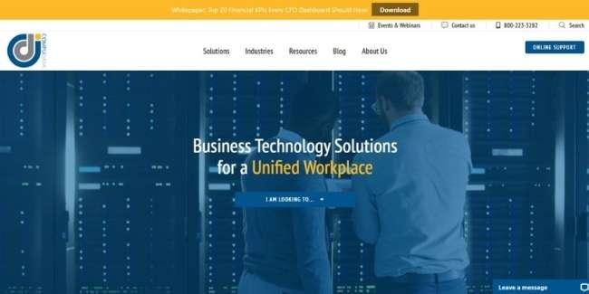 managed IT service providers: CompuData