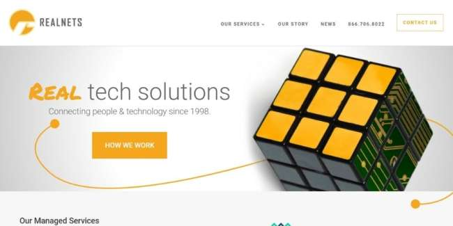 Realnets website