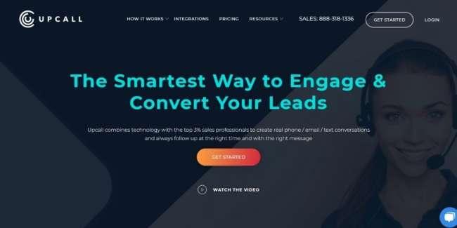 lead generation companies: Upcall