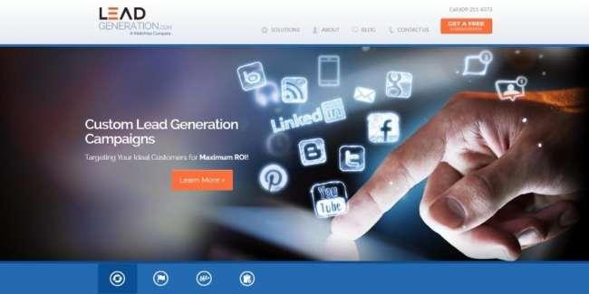 lead generation companies: LeadGeneration.com