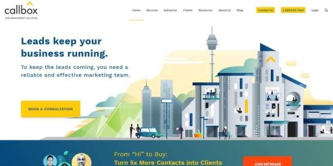 lead generation companies: Callbox