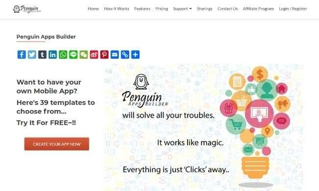 Penguin Apps Builder