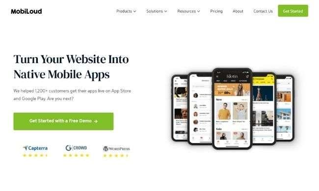 MobiLoud website