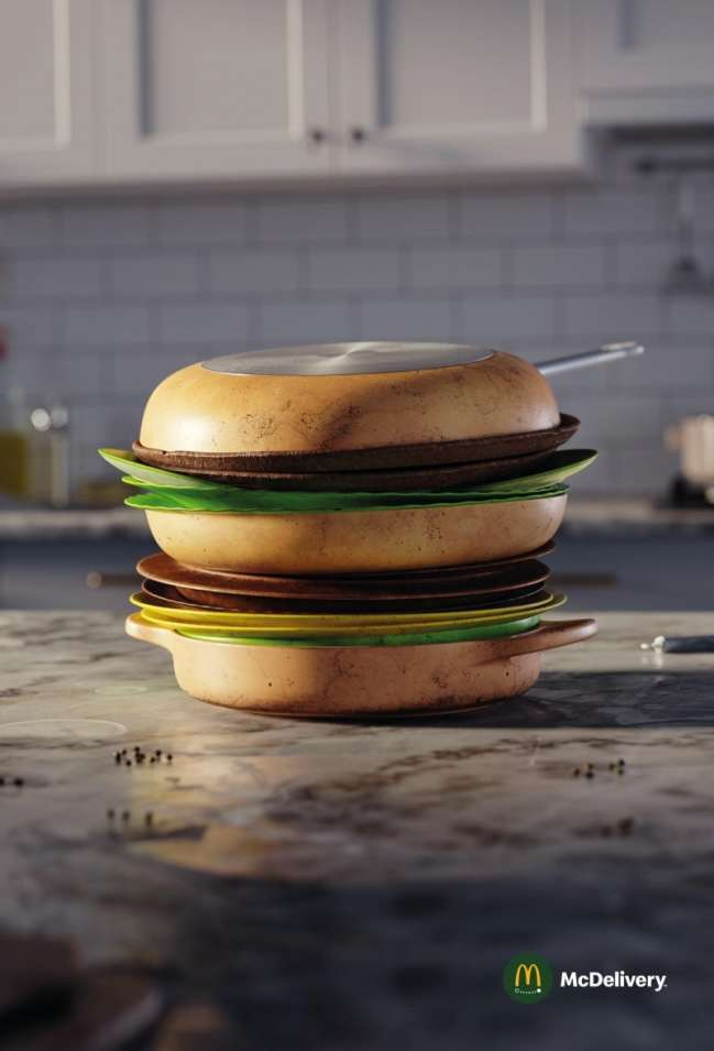 best marketing campaigns: McDelivery