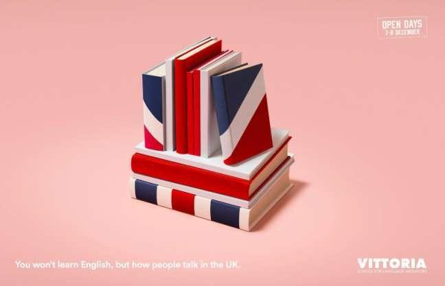 La Fabrica Creativa's marketing campaign: English language