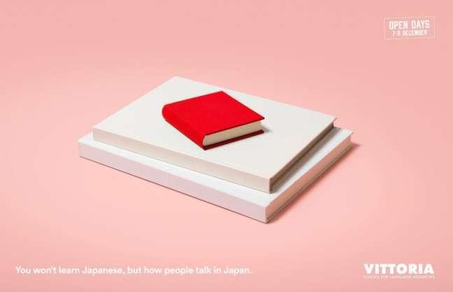 La Fabrica Creativa's marketing campaign: Japanese language