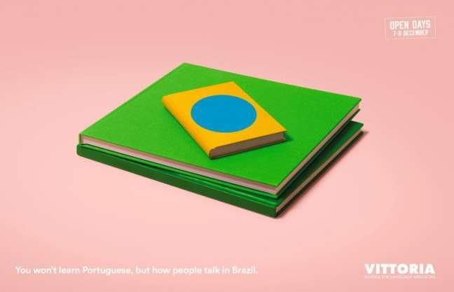 La Fabrica Creativa's marketing campaign: Portuguese language