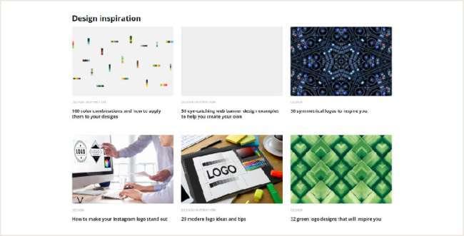 email design inspiration platforms: Canva