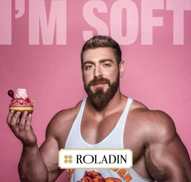 Roladin's I am soft campaign design