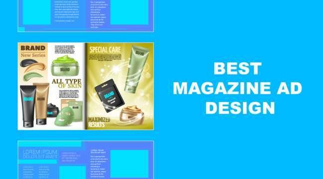 best magazine ad design examples