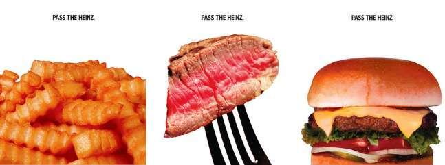 best magazine ad design: Heinz