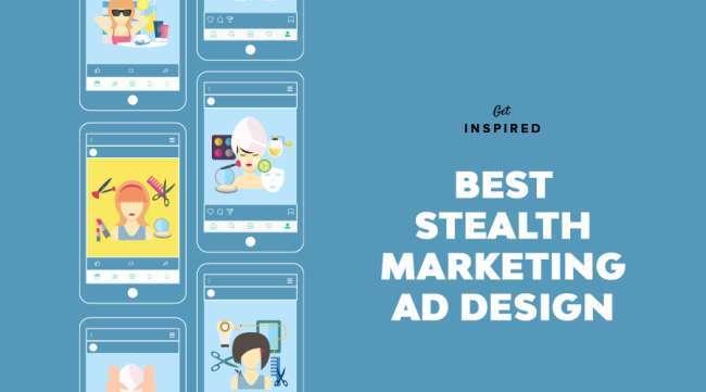 best stealth marketing ad design