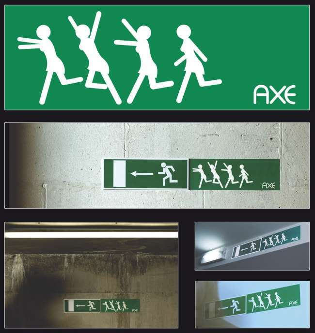 Stealth marketing examples: Axe