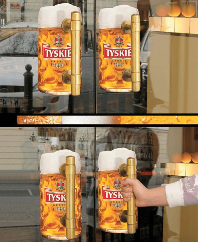 Tyskie Beer advertisement