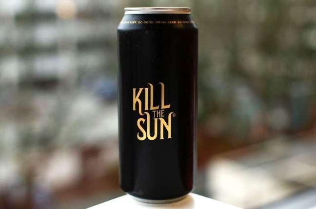 KillTheSunAle label design