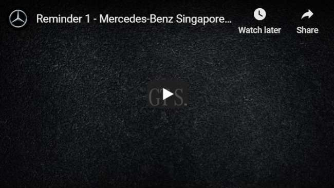 YouTube pre-roll ad examples: Mercedes-Benz
