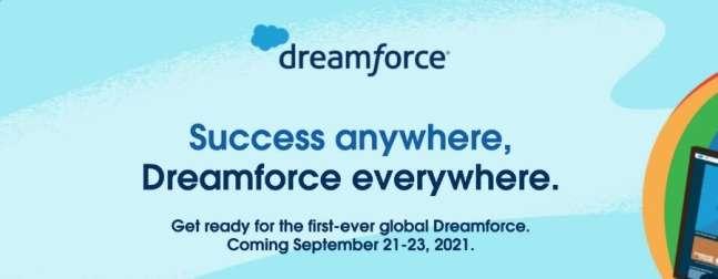 digital marketing conference dreamforce website screenshot