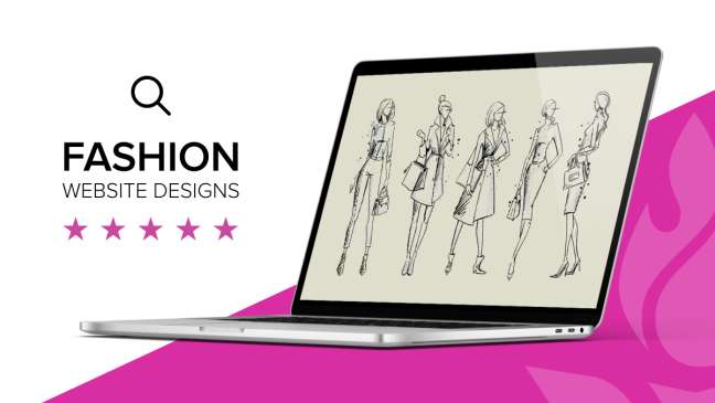 Fashion website design examples
