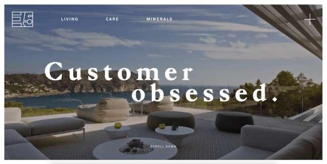 E5 Holding architecture website design