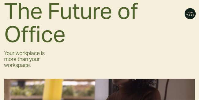 The Future of Office architecture website design