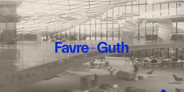 Favre+Guth architecture website design