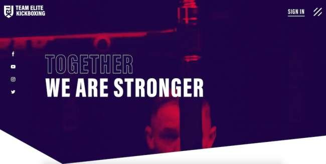 Team Elite Kickboxing Best Sports Website