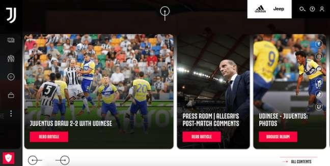 Juventus Best Sports Website
