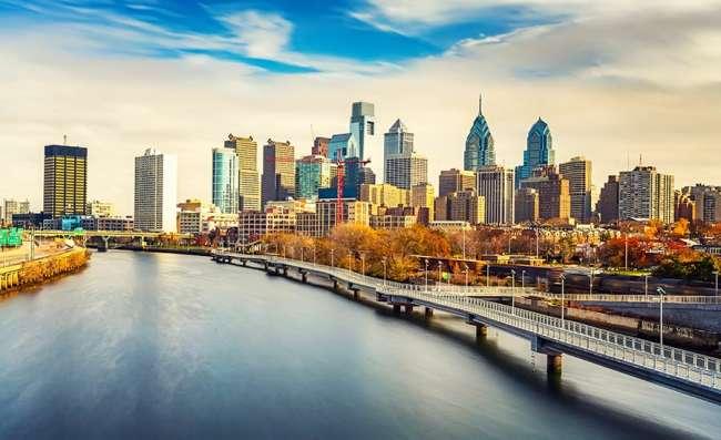 Panoramic view of Philadelphia