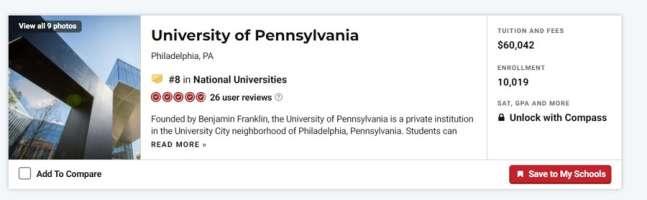 marketing firms Philadelphia: US national universities rankings