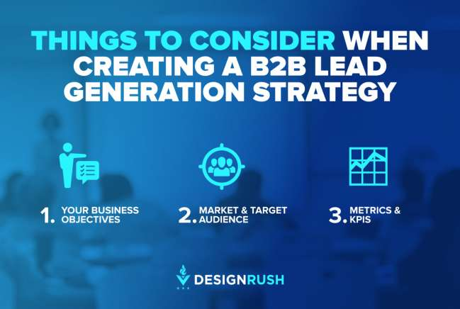 What to consider when creating a B2B lead generation strategy
