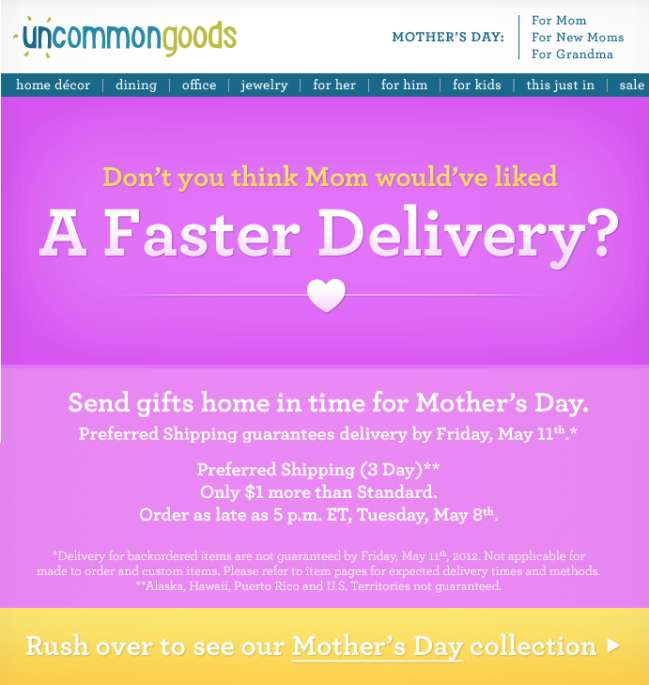 Ucommon Goods Email Marketing Best Practices