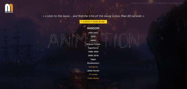 Movie Music Quiz Film Company Websites