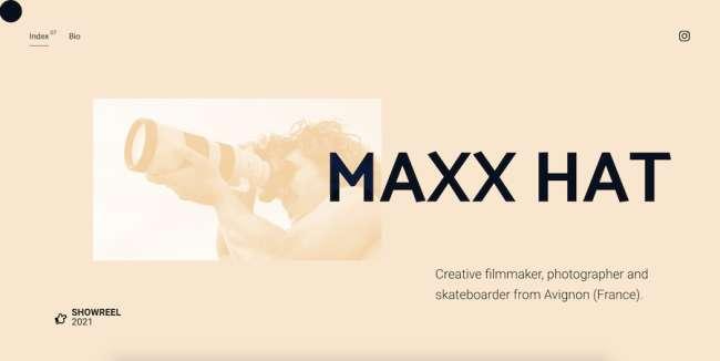 Maxx Hat Best Film Production Company Website