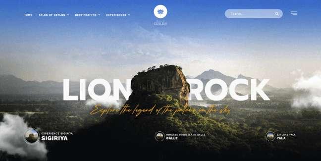 Tales of Ceylon Best News & Magazine Website Designs