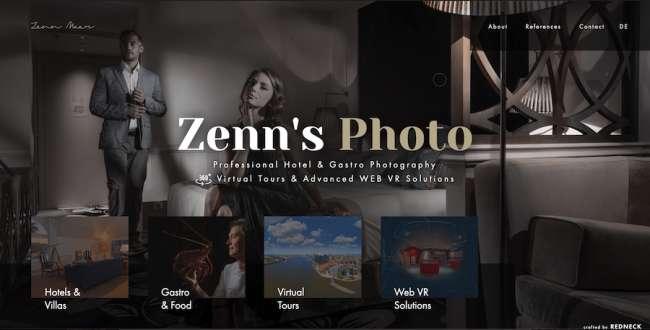 Zenn's Photo photographer website