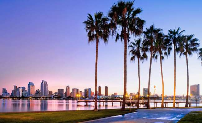 city view of San Diego
