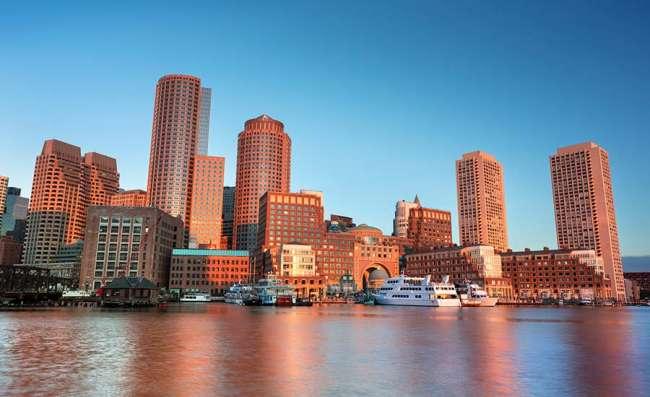 The creative district in Boston