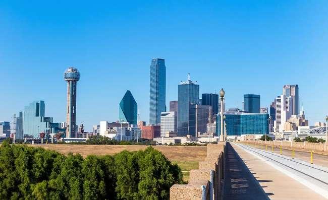 scenic view of Dallas, Texas