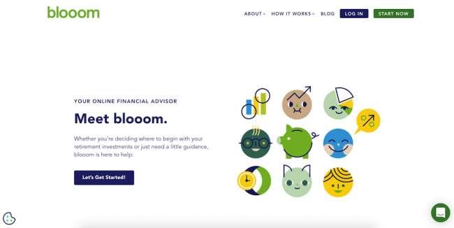 Blooom technology websites design