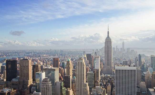 city view of New York