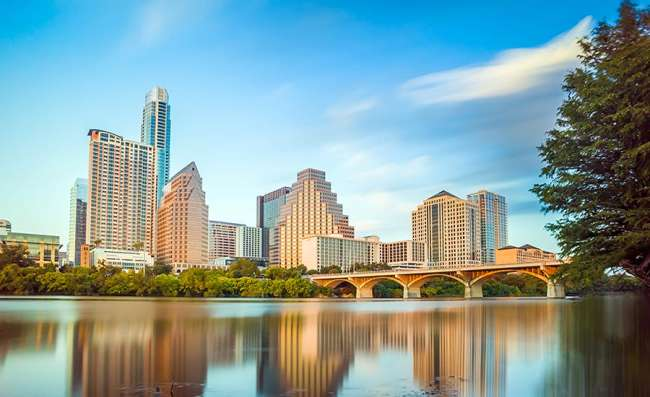 city view of Austin