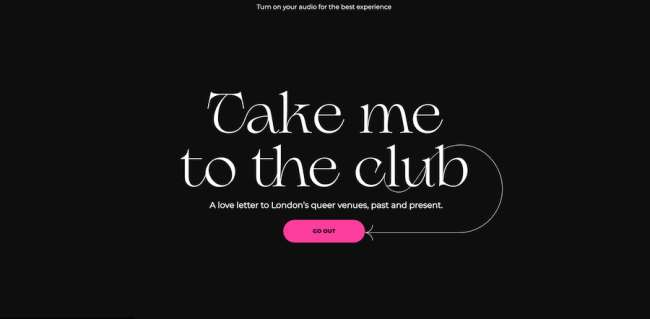 Take Me to the Club best educational website designs